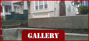House with Concrete Wall - Concrete Contractor